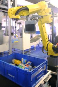 Roboter Piece Pick Module, Dematic